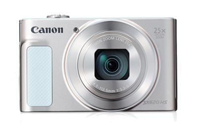 APN CANON Pack SX620 HS Blanc + Etui + SD 8Go