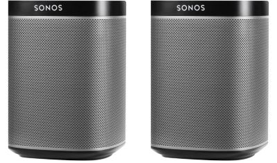 Enceinte Multiroom SONOS Pack duo PLAY:1 noir