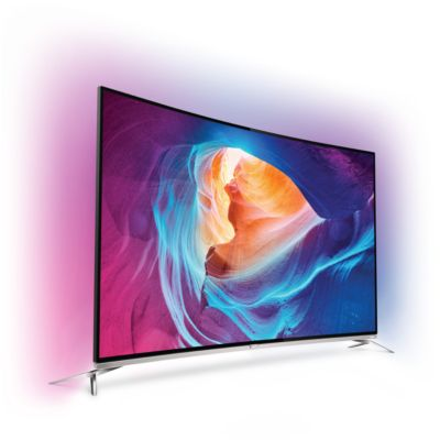 TV 4K UHD PHILIPS 65PUS8700 4K 1400Hz PMR SMART TV INCURVE