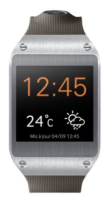 Montre Galaxy Gear grise