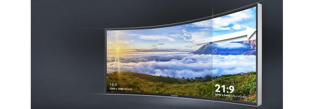 écran Samsung incurvé 34 pouces LED Ultra WQHD