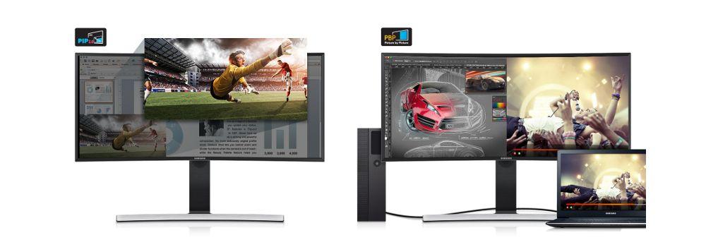 Samsung Curve Ultra WQHD 34 pouces écran professionnel