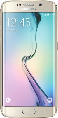 Smartphone Samsung Galaxy S6 Edge 32go Or