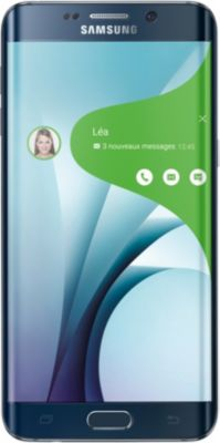 Samsung Galaxy S6 edge+ – SM-G928F – saphir noir – 4G LTE – 32 Go – GSM – téléphone intelligent Android