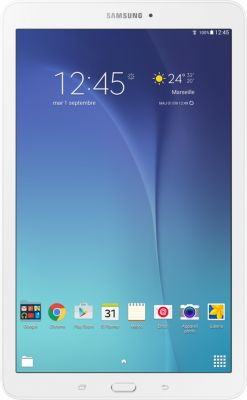 Tablette Android SAMSUNG Galaxy Tab E 9.6'' White