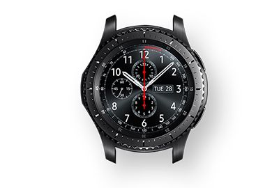 samsung gear s3 frontier montre connect e boulanger. Black Bedroom Furniture Sets. Home Design Ideas