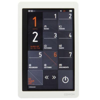 Bal. MP3 COWON iAudio X9 8Go blanc