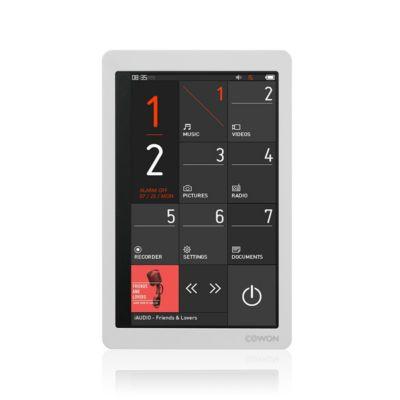 Bal. MP3 COWON iAudio X9 16Go blanc