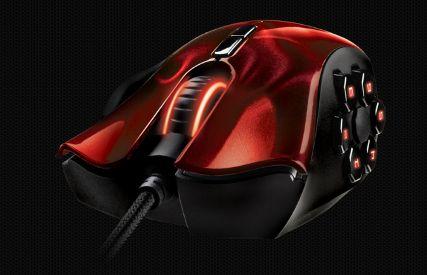 souris gamer Razer Naga Hex Wraith Red