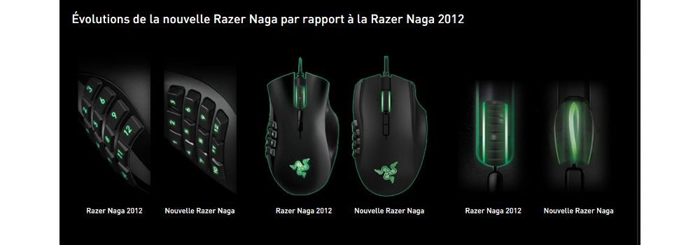 Naga MMO souris gamer Razer