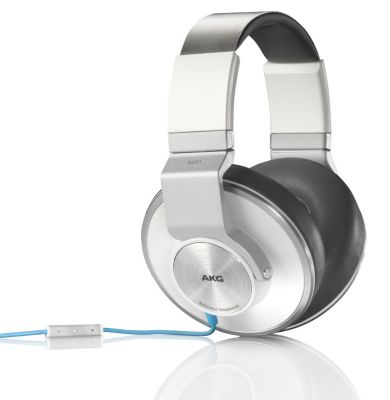 Casque AKG K551 blanc/bleu