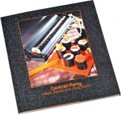 Lansa design livre de recettes pour easy sushi for Conception cuisine boulanger