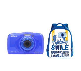 Nikon Pack S33 bleu + Sac à dos