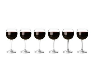 Chef & Sommelier Lot de 6 verres ballon 35cl
