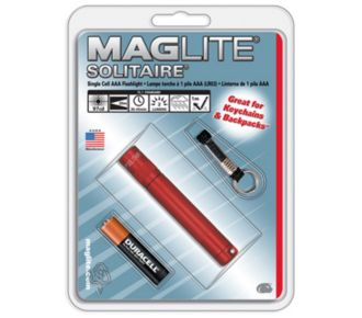 Maglite Solitaire Krypton rouge