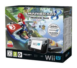 Nintendo Wii U 32Go Mario Kart 8 pré-installé