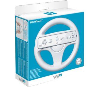 Nintendo Volant blanc Wii U