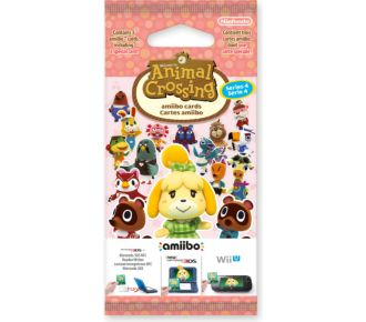 Nintendo 3 cartes Animal Crossing HDD Série 4