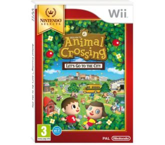 Nintendo Animal Crossing Let's Go To City Selects