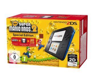 Nintendo 2DS Noire/Bleue + New Super Mario Bros 2