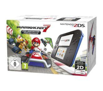Nintendo 2DS Noire/Bleue + Mario Kart 7