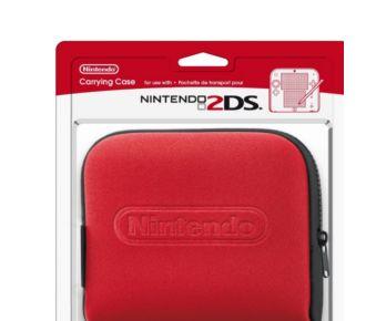 Nintendo Pochette rouge pour 2DS