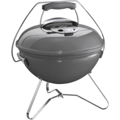 Barbecue charbon WEBER SMOKEY JOE 37 cm gris galet