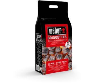 Weber de 4 Kg de briquettes de charbon de bois