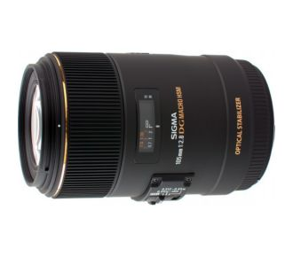 Sigma 105mm f/2.8 Macro EX DG OS HSM Nikon