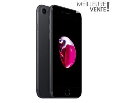 pack apple iphone 7 noir 128 go chez boulanger. Black Bedroom Furniture Sets. Home Design Ideas