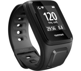 Tomtom Outdoor GPS Runner 2+Cardio Noir/Anthracite Fin