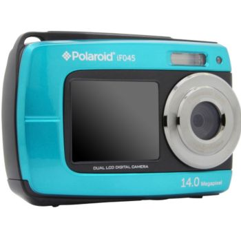 Polaroid if045 bleu appareil photo compact boulanger - Appareil photo etanche boulanger ...