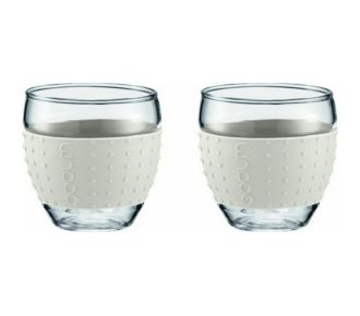 Bodum Set de 2 tasses à café 10cl blanc