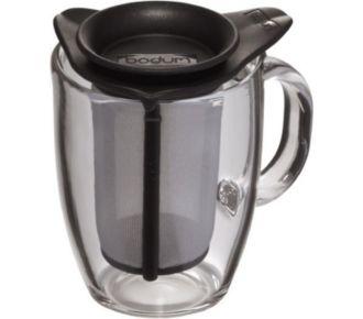 Bodum Set mug en verre et son filtre en nylon