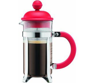 Bodum Cafetière à piston 3 tasses 0,35l rouge