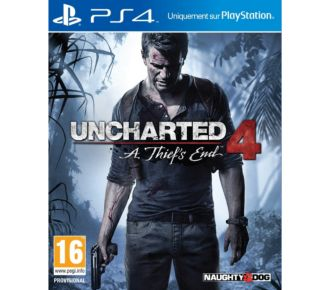 Sony Uncharted 4 : A Thief's End