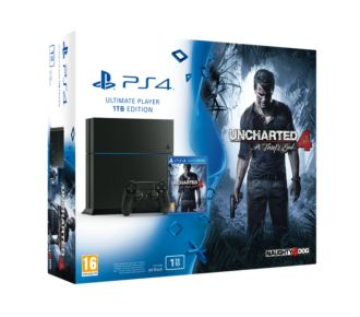Sony PS4 1To + Uncharted 4