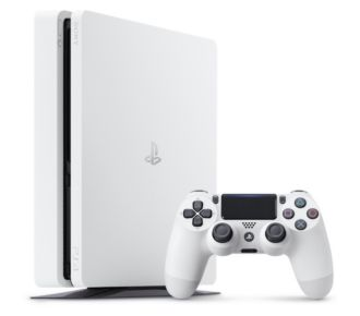 Sony PS4 500Go Slim Blanche