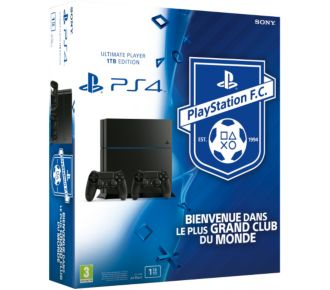 Sony PS4 1To + 2e Manette + PS Football Club