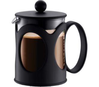 Bodum Cafetière à piston 4 tasses 0,5l noir