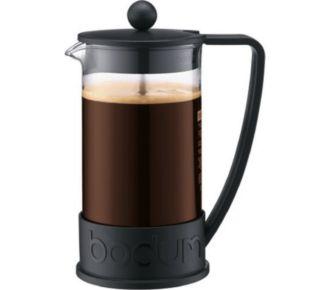 Bodum Cafetière à piston 8 tasses 1l noir
