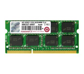 Transcend SO DIMM 204 broches 4 Go - 1333 MHz