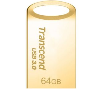 Transcend 64Go JetFlash 710, Gold Plating USB 3.0