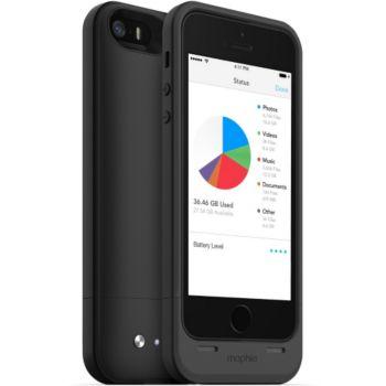 power bank mophie coque batterie 32go iphone 5 5s noir. Black Bedroom Furniture Sets. Home Design Ideas