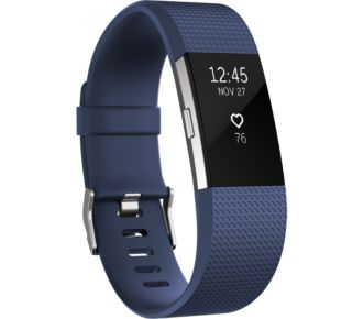 Fitbit Charge 2 Blue Silver L