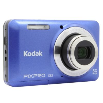 appareil photo compact kodak x52 bleu appareil photo. Black Bedroom Furniture Sets. Home Design Ideas