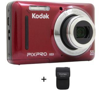 Kodak Pack X53 rouge + Etui