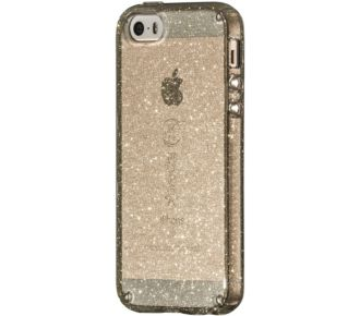Speck iPhone 5/5S/SE Candy Shell Gold Glitter