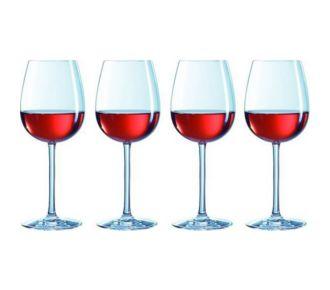 Chef & Sommelier 4 verres de dégustation vin blanc, rouge