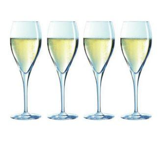 Chef & Sommelier Lot de 4 flûtes à champagne 26cl